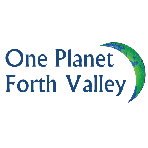 One Planet Forth Valley logo