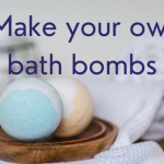 Make your own sustainable bath bombs